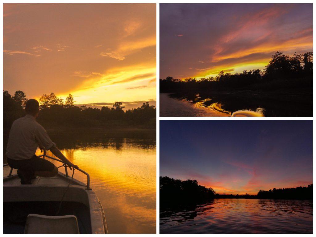 kinabatangan-sunset
